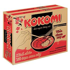 Thùng 30 Gói Mì Kokomi Tôm Chua Cay (65gr/Gói )