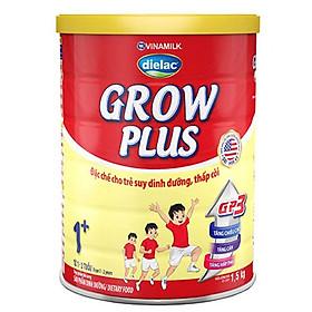 HỘP SỮA BỘT VINAMILK DIELAC GROW PLUS 1+ 1.5KG (CHO TRẺ TỪ 1 - 2 TUỔI)