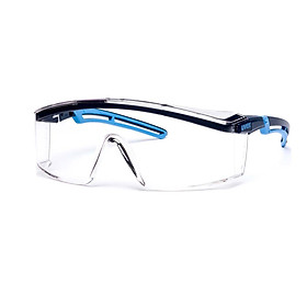 Kính bảo hộ UVEX 9164065 Astrospec 2.0 gọng Xanh/Xanh nhạt Clear Optidur NCH Len (tặng kèm hộp đựng kính)