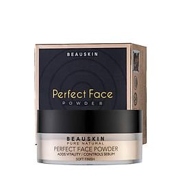 Phấn phủ bột kiềm dầu Beauskin Perfect Face Powder 30g Natural Beige Hàn Quốc (New)