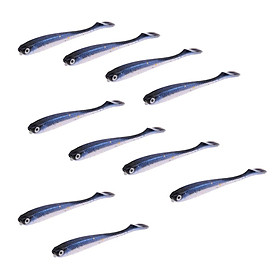 Silicone Fishing Soft Lure Baits Worm Lures Swimbait Fishing Tackle Lures