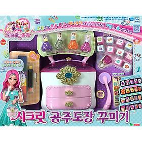 Đồ Chơi Young Toys - Trang Trí Những Con Dấu Huyền Bí Secret Princess Stamp