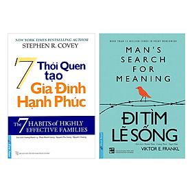 Combo 7 Thói Quen Tạo Gia Đình Hạnh Phúc (Tái Bản) + Đi Tìm Lẽ Sống (2 cuốn)
