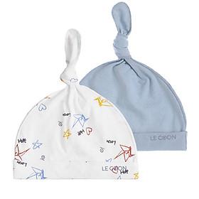 Combo nón Knotted dành cho bé sơ sinh, Thương hiệu LECOON