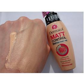 Kem Nền Kiềm Dầu Dermacol Matt Control Make-up 30ml-2