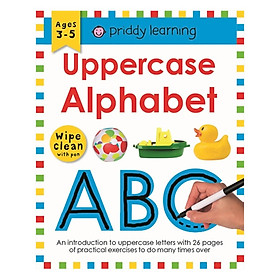 Wipe Clean Workbook Uppercase Alpha
