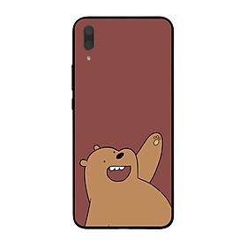 Ốp lưng dành cho điện thoại Huawei Y7 Pro 2019 in họa tiết Gấu nâu bắc cực-2500x5000