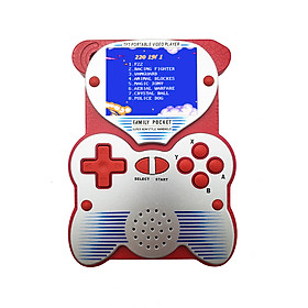 Handheld Game Console Retro Console with Built in 220 Games 2.5 Inch Portable TFT LCD Color Screen Classic TV Output