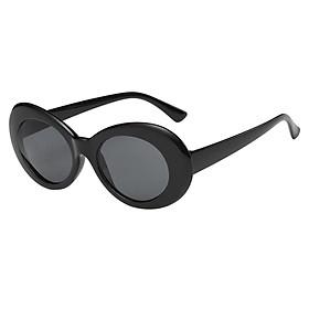 Vintage Retro Women Men Glasses Round Mirror Lens Sunglasses Red+Grey