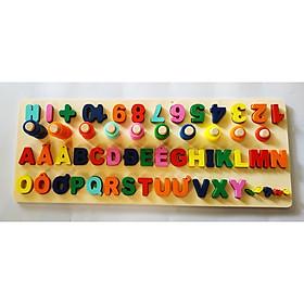 Giáo Cụ Montessori cho bé học đếm số, phép tính  và chữ cái Tiếng Việt MyKids