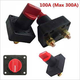Car Battery Power Switch Ultra-Large Current Power-Off Switch Screw Diameter 6mm Rated Current 300A Battery Disconnect
