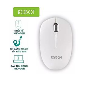 [[ Chuột Bluetooth Phạm Vi 20m - KÈM VIDEO ]] - Chuột Không Dây Đèn Quang Máy Tính Chơi Game Robot | 2.4GHz 1600DPI | Cho Laptop/Máy Tính - M210 - Hàng Chính Hãng