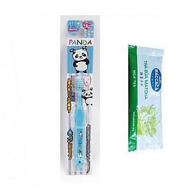 Bàn Chải Đánh Răng Ion Cho Bé Từ 1,5 Tuổi Kawanishi Nhật Bản (Tặng Trà Sữa)