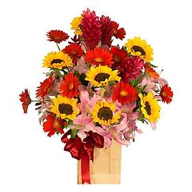 Hộp hoa tươi - Giấc Mộng Ban Đầu 4038