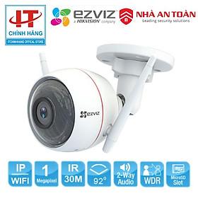 Camera C3W Wifi 1MP EZVIZ C3W 720P (CS-CV310-A0-3B1WFR) - Hàng Chính Hãng
