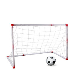 Football Net Soccer Ball Net Practical White Plastic Goalkeeper Outdoor