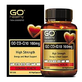 Bổ Tim New Zealand GO Co-Q10 160mg 60 viên- Tăng sức đề kháng, nguy cơ tai biến tim mạch