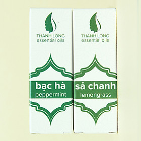 Hình đại diện sản phẩm Combo 2 tinh dầu đuổi muỗi côn trùng, khử mùi diệt khuẩn, sạch thơm phòng (10ml/chai)