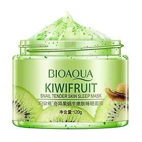 BIOAQUA 120g Kiwifruit Snail Tender Skin Sleeping Mask Nourish Hydrate No-wash Skin Care