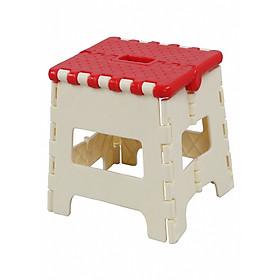 Ghế xếp gấp gọn (27,5 x 21 x 21,5 cm)  - màu ngẫu nhiên