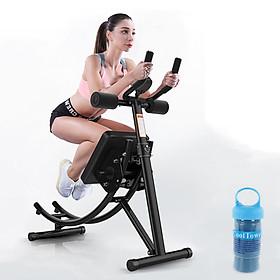 Máy tập bụng - Dụng cụ tập thể dục đa năng - Dụng cụ tập Gym tại nhà - Chất liệu thép chịu lực cao + Tặng kèm khăn lạnh thể thao cao cấp