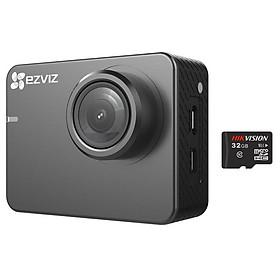 Camera Action không dây 4K EZVIZ CS-SP206 + Tặng kèm thẻ nhớ 32GB Hikvision