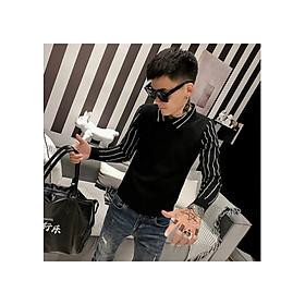 áo len phối màu tay sọc Mã: NT2388