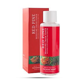 Nước hoa hồng dưỡng ẩm  tinh dầu thông đỏ Mersenne Beaute