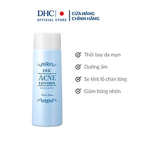 Nước Cân Bằng Da Hỗ Trợ Điều Trị Mụn DHC Acne Control Fresh Lotion (100ml)