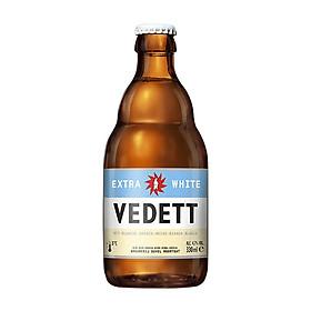 Thùng 24 chai bia Vedett Extra White