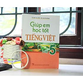 Sách: Giúp Em Học Tốt Tiếng Việt Lớp 5 B53 (Tái Bản)