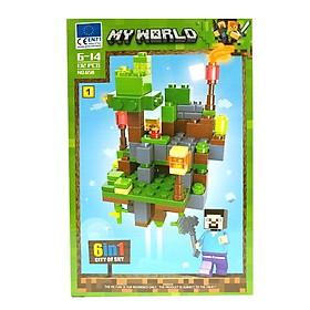 Bộ Xếp Hình - My World - 658 (LI60) - Mẫu 1 (132 Mảnh Ghép)