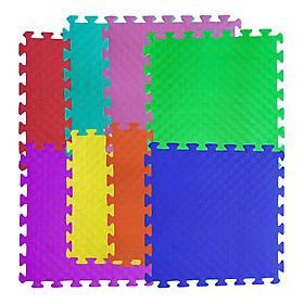 Bộ 8 tấm Thảm xốp lót sàn an toàn Thoại Tân Thành màu trơn (50x50cm)