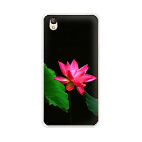 Ốp lưng điện thoại Oppo Neo 9 (A37)  - 01099 7819 LOTUS06 - Silicon dẻo - Hàng Chính Hãng