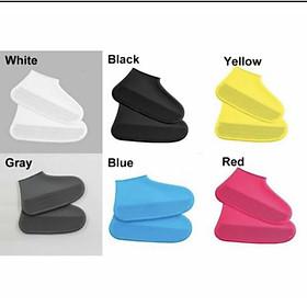 Ủng bọc giày đi mưa chống trượt PK519 - Vàng - M(36-38)