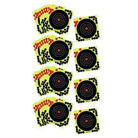 40 Pcs Splatter Reactive Self Adhesive Shooting Targets Gun