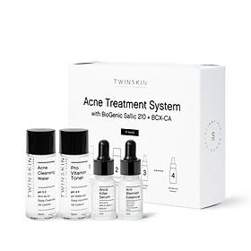 BỘ KIT TRỊ MỤN TIỆN LỢI VÀ TOÀN DIỆN - Acne Treatment System with BioGenic Sallic 210 + BCX-CA