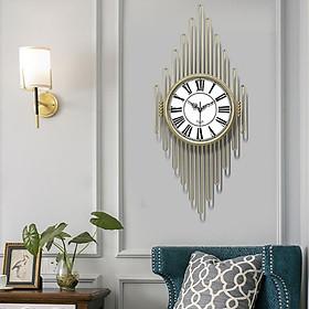 Đồng hồ treo tường sang trọng cao cấp Đồng hồ đa năng tiện ích trang trí DH-DH2017