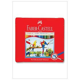 Faber-Castell-Chì Màu Rl Ws Parrot-36 Màu Dài (Hộp Thiếc)