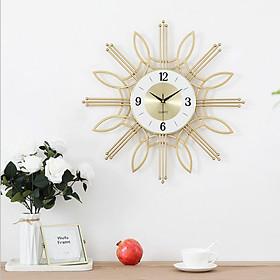 Đồng hồ phù điêu trang trí hoa văn cực đẹp YX2008