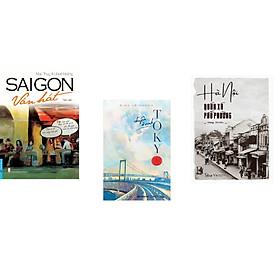 Combo 3 cuốn sách: SaiGon Vẫn Hát + Chuyện Ở Vịnh Tokyo + Hà Nội - Quán Xá Phố Phường
