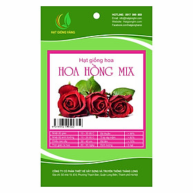 Hạt giống hoa Hoa hồng Golden Seeds mix 5 Hạt
