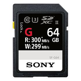 Thẻ Nhớ Sony 64GB SF-G Series UHS-II SDXC Memory Card - Hàng Chính Hãng
