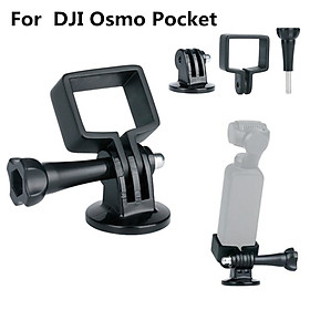 Für DJI OSMO Pocket Schwebestative Handheld Mount Holder Halterung Klammer ULANZI OP-3 DJI Osmo Pocket Extension Fixed Stand Holder with GoPro Adapter for Tripods, for DJI Osmo Pocket Gimbal Accessories