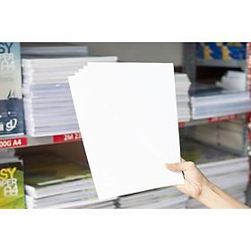 Giấy in ảnh 1 mặt bóng định lượng 230g A4 xấp 100 tờ