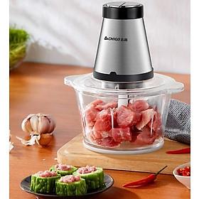 Máy Xay Thịt 2 Lưỡi Kép Chigo ZG-L74A (2L) - Xay nhuyễn thịt, cá, rau củ, gia vị - Hàng Chính  Hãng