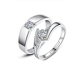 Hình đại diện sản phẩm NH043 Nhẫn bạc Thái 925 Dasavoong cặp