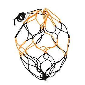 Túi Lưới Nylon Đựng Bóng Rổ Bóng Đá - Đen Và Trắng