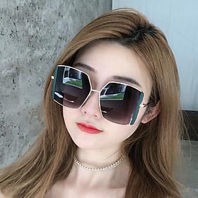 (Tặng khăn lau) Kính râm nữ thời trang, kính mát nữ chống tia UV400 phiên bản Hàn Quốc - KM31