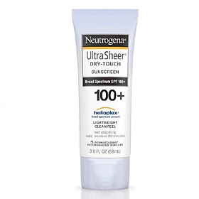 Kem chống nắng Neutrogena Ultra Sheer Dry Touch Sunscreen SPF100+ 88ml